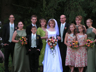 Family Wedding Photo