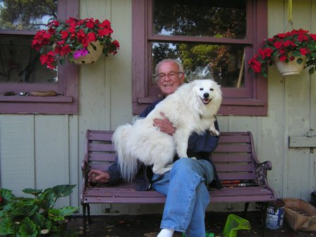 Rick's dad holding Koji