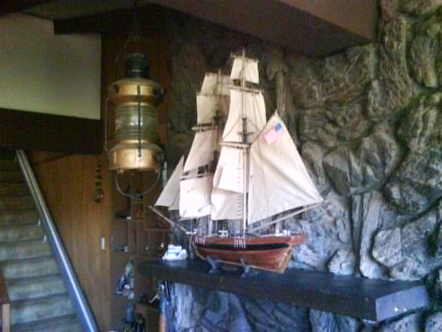 model ship for Laura
